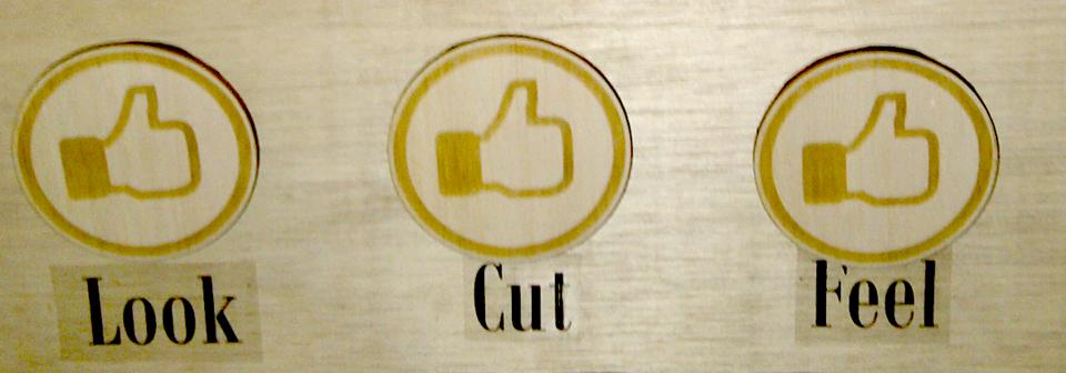 look cut feel