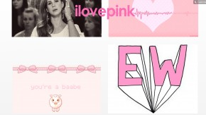 ilovepink curated artwork